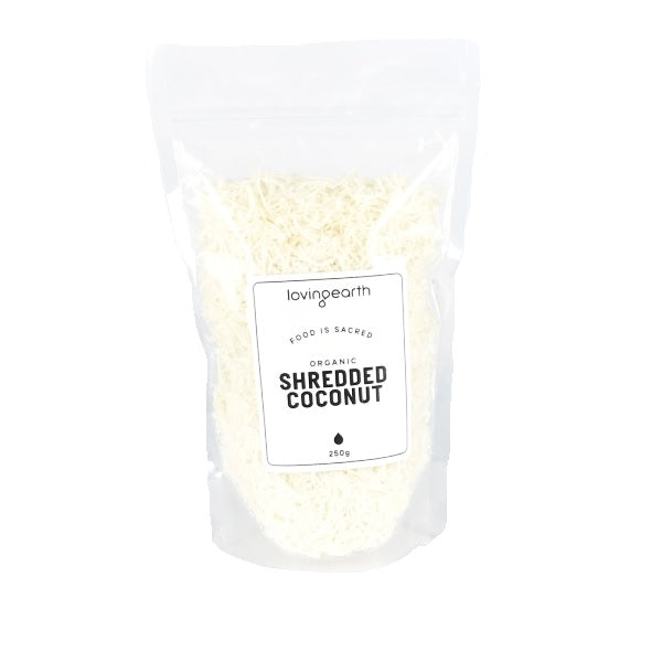 Loving Earth Coconut Shredded 250g