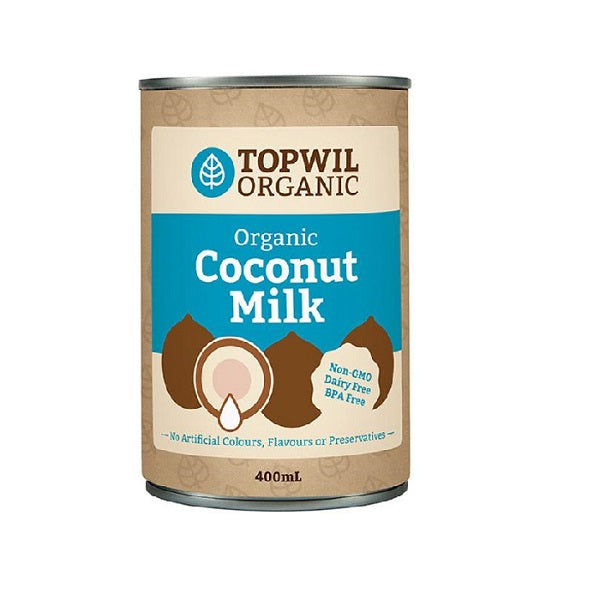 Topwil Organic Coconut Milk 400ml