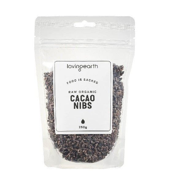Loving Earth Cacao Nibs 250g