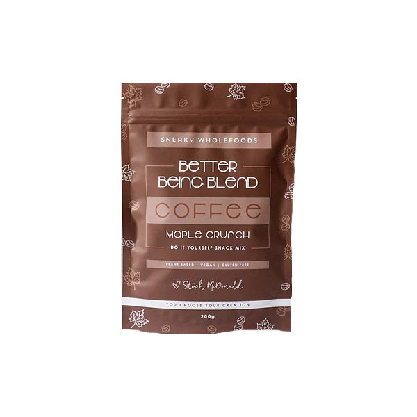 Sneaky Wholefoods - Better Being Coffee Maple Crunch 200g
