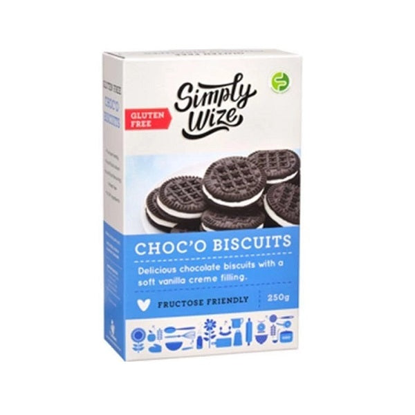 Simply Wize ChocO Biscuits 250g