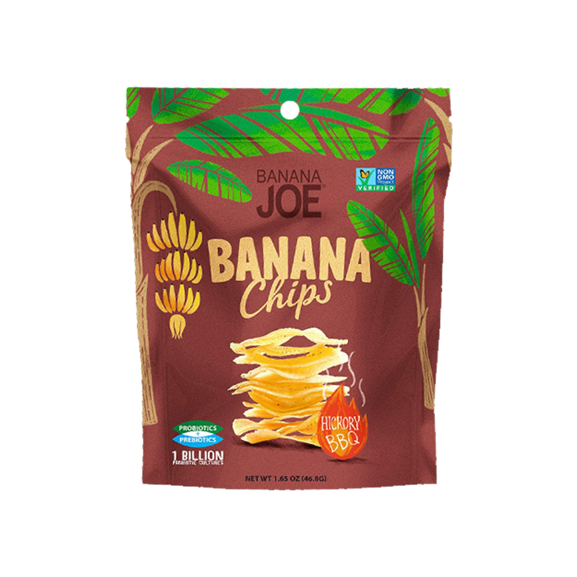 Banana Joe - Banana Chips - Hickory BBQ 46g