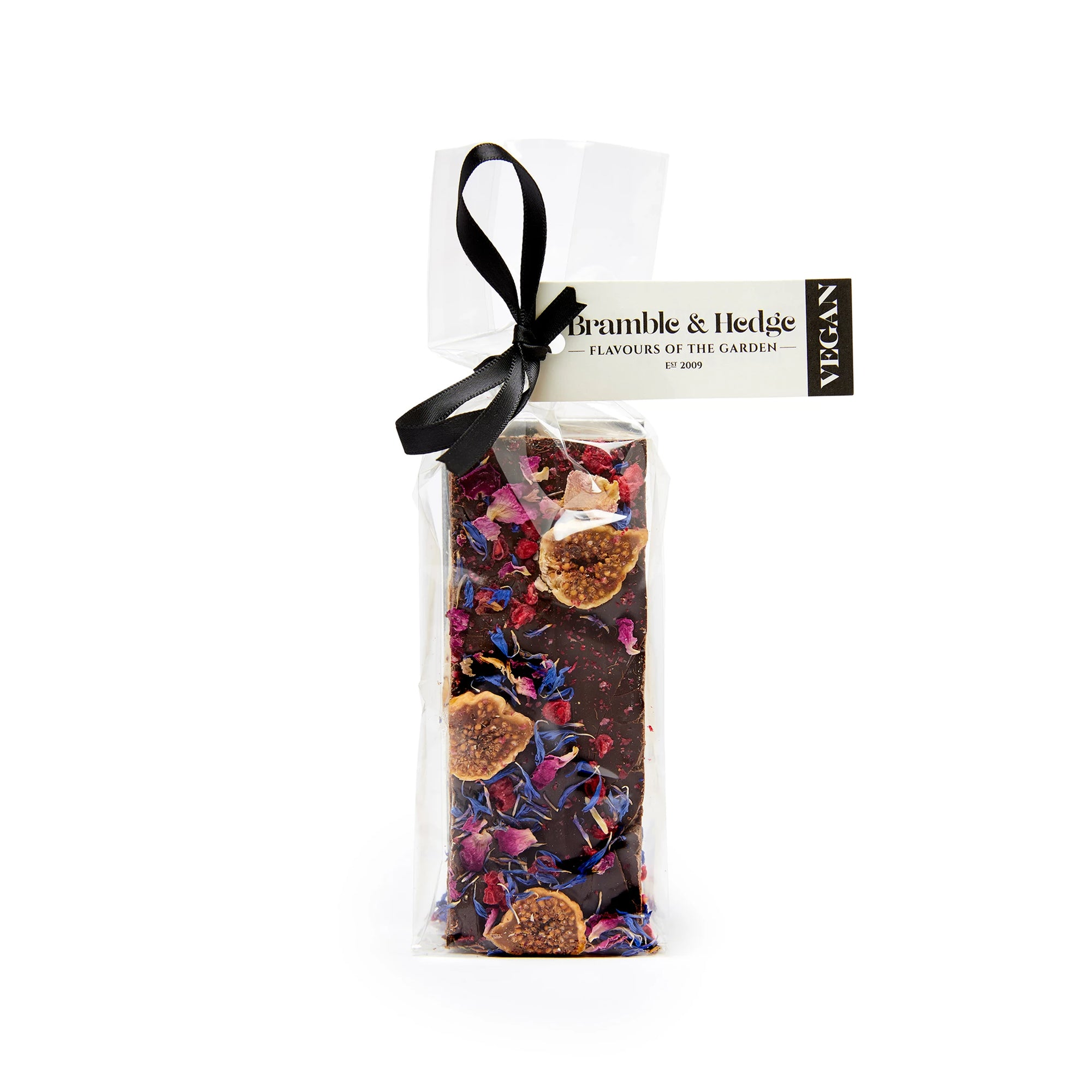 Bramble & Hedge - Vegan Nougat - Chai, Wild Fig & Raspberry  150g