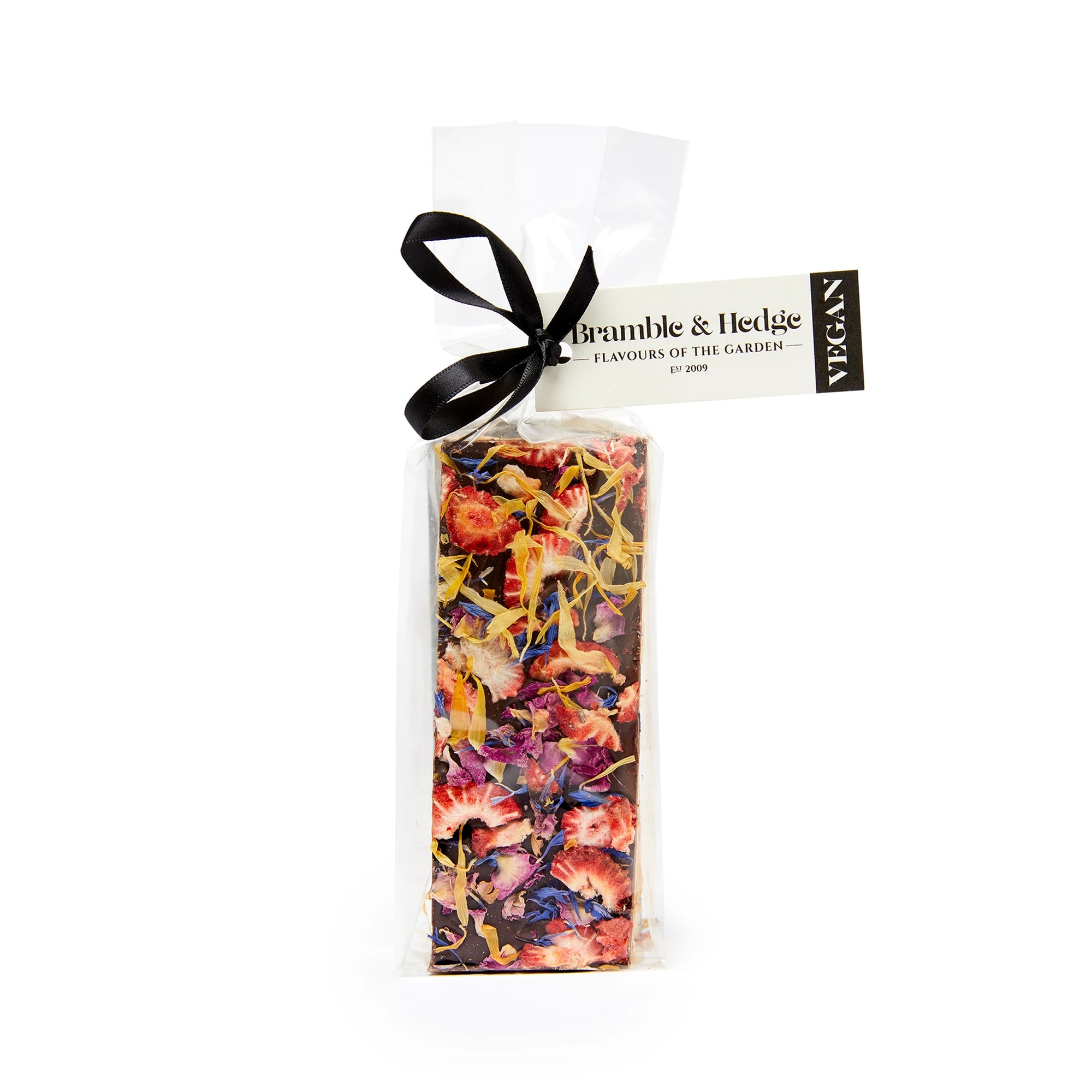 Bramble & Hedge - Vegan Nougat - Strawberry & Elderflower 150g