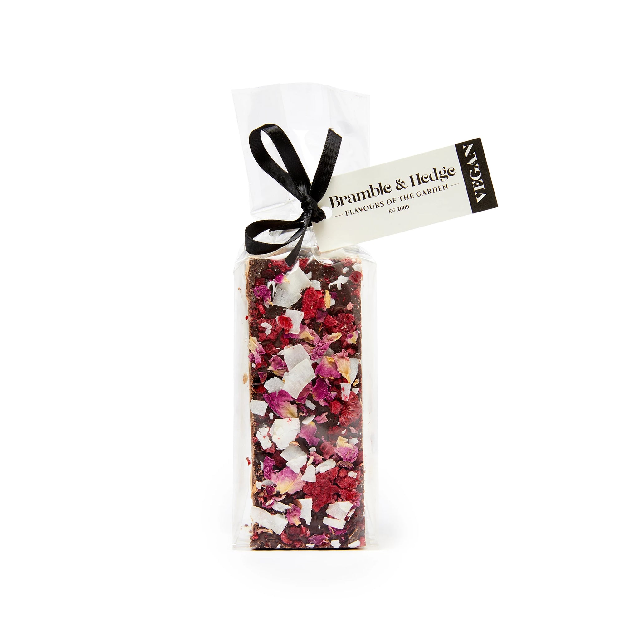 Bramble & Hedge - Vegan Nougat - Sour Cherry & Raspberry  150g
