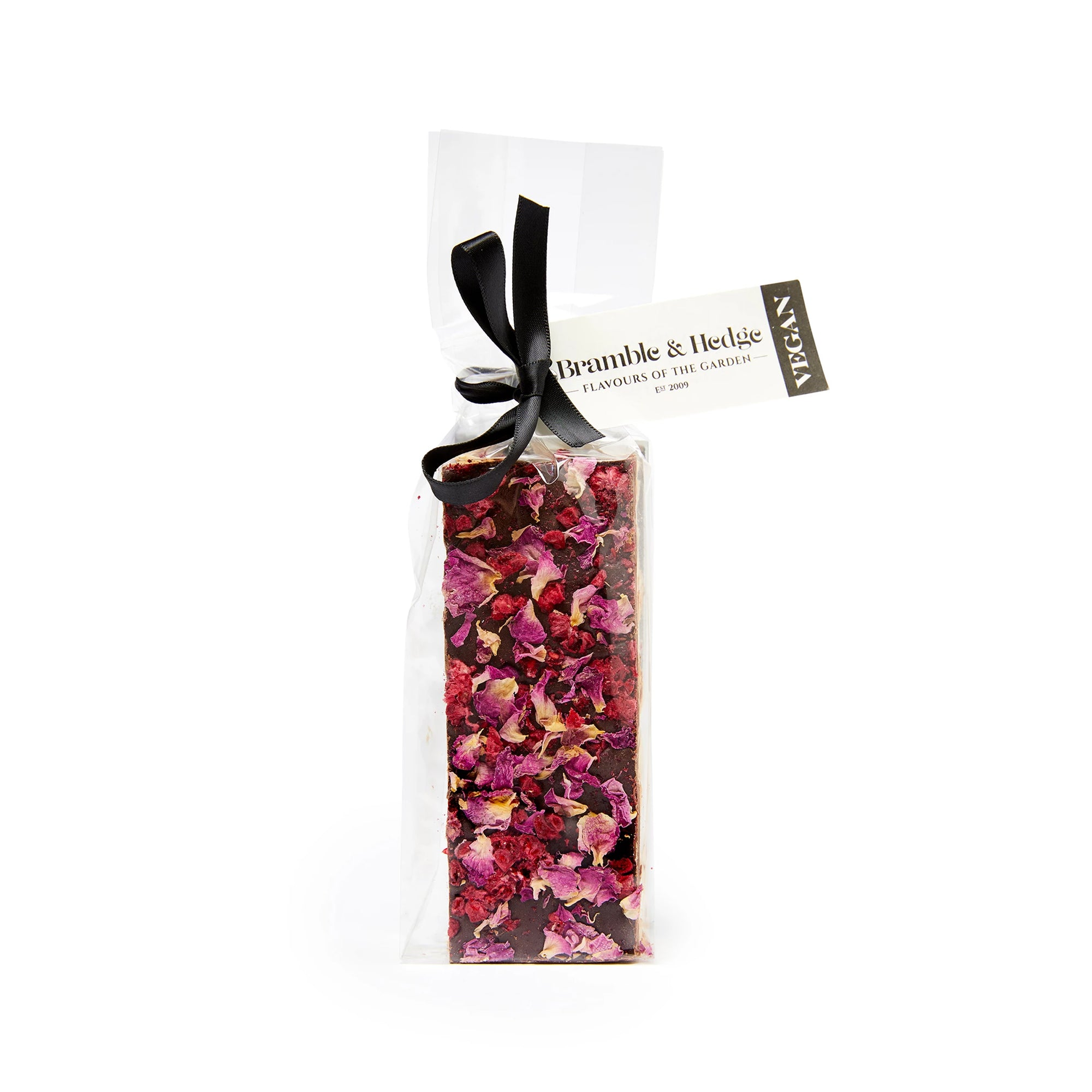 Bramble & Hedge - Vegan Nougat - Wild Raspberry & Vanilla Bean  150g