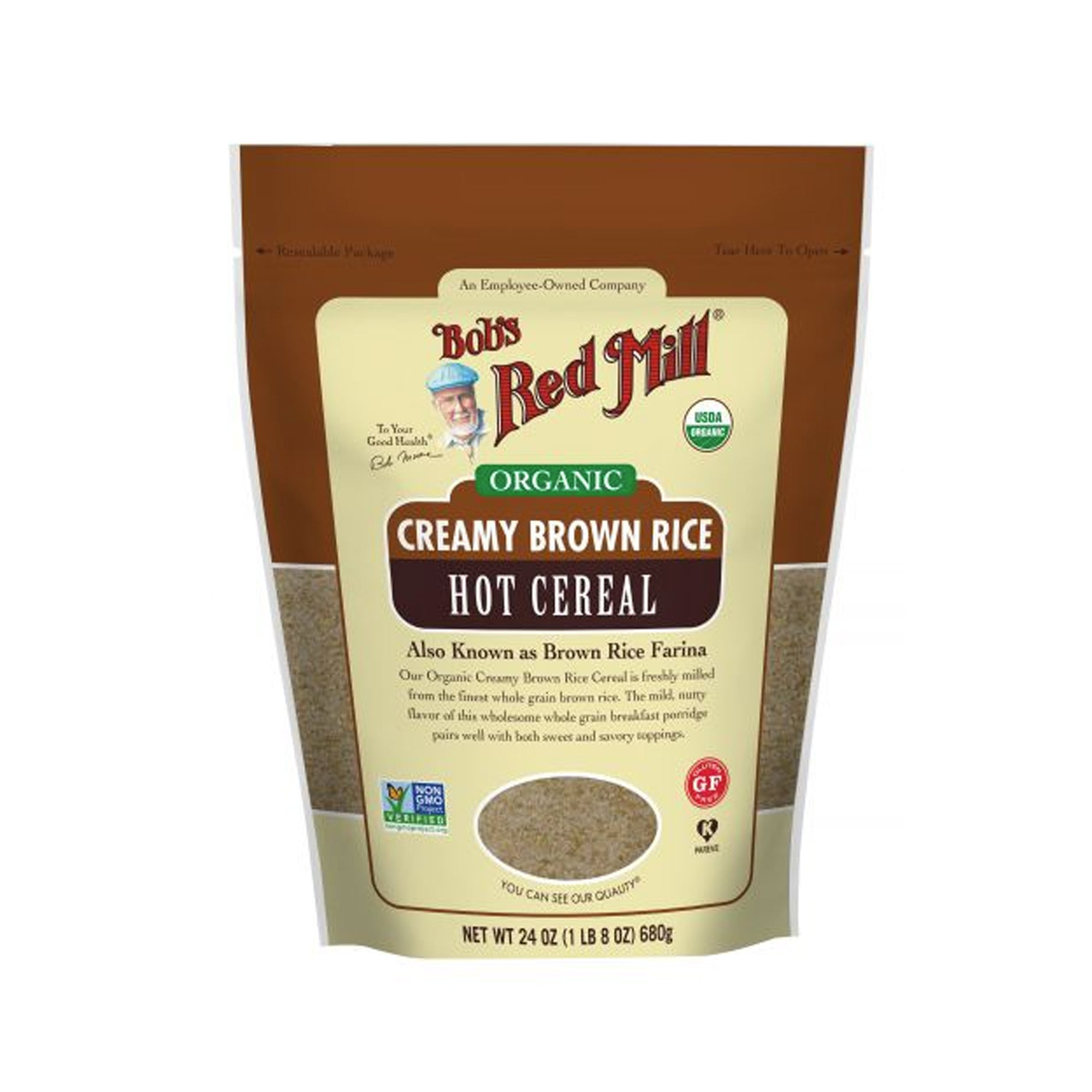 Bobs Red Mill Creamy Rice Cereal 737g
