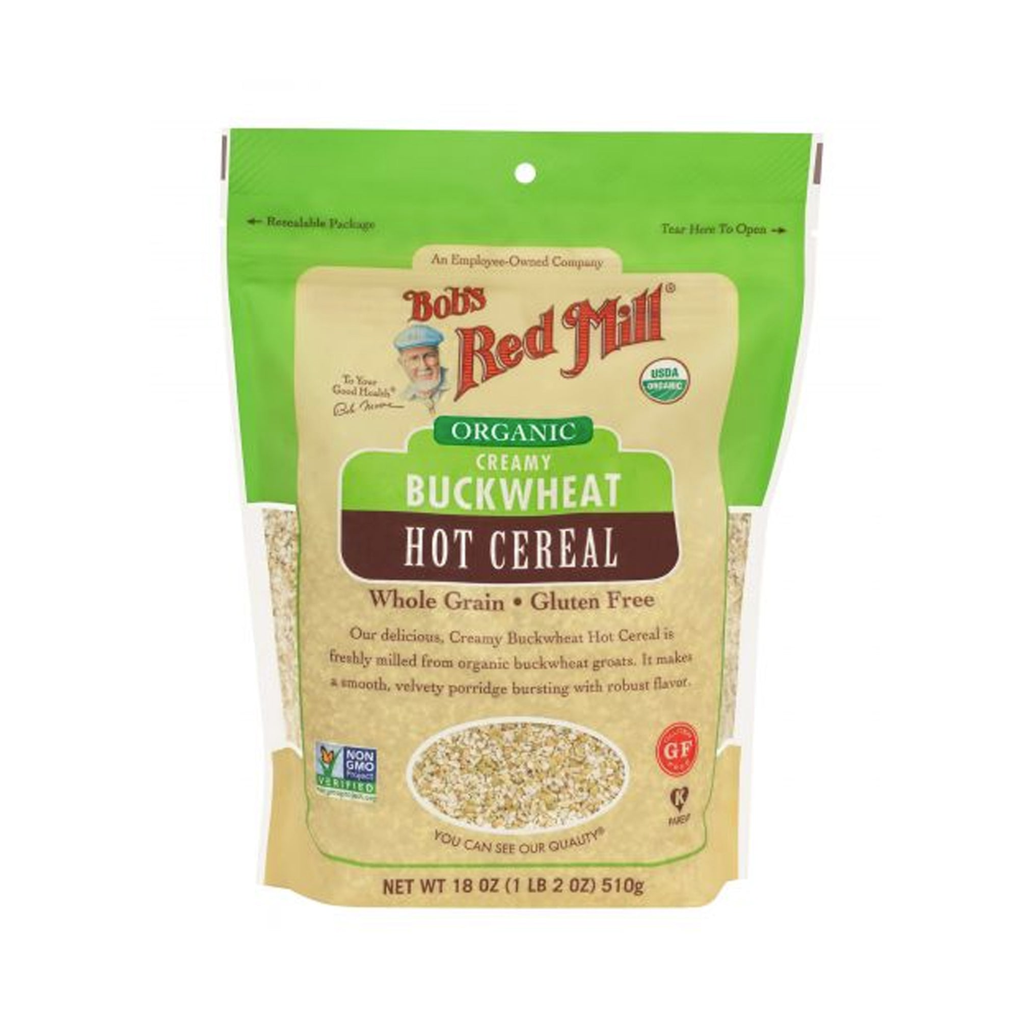 Bobs Red Mill Creamy Buckwheat Cereal 510g