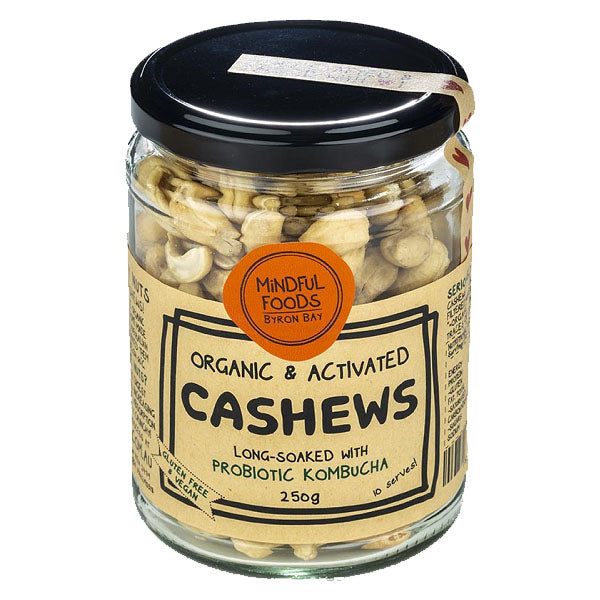 Mindful Foods - Activated Cashews 250g