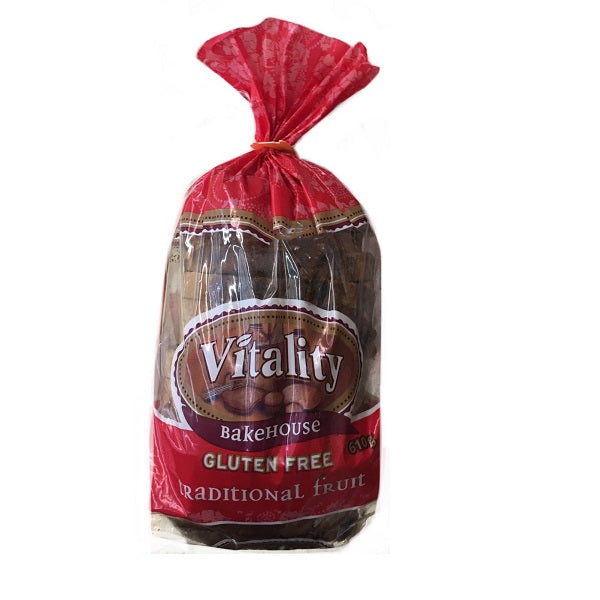 Vitality Traditional Fruit Loaf 610g