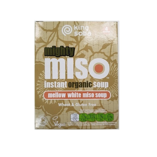King Soba Soup Miso White 100g