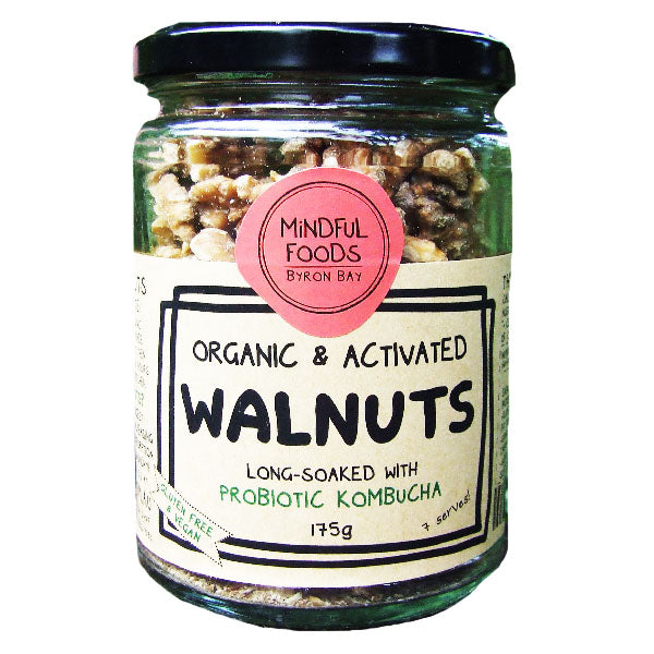 Mindful Foods - Walnuts 175G