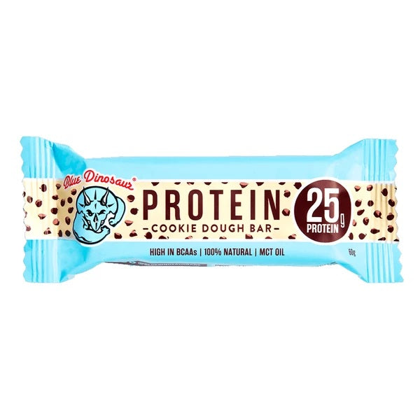 Blue Dinosaur Protein Bar Cookie Dough 60g