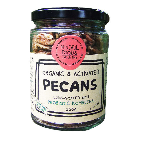 Mindful Foods - Pecans 200G
