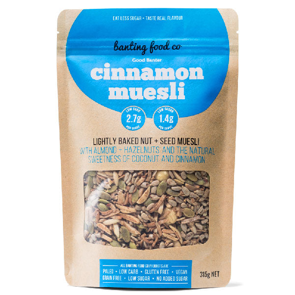 Banting Food Co - Good Banter Muesli 315g