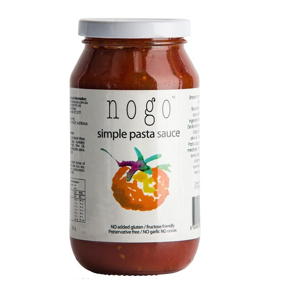 NoGo Pasta Sauce Simple 375ml
