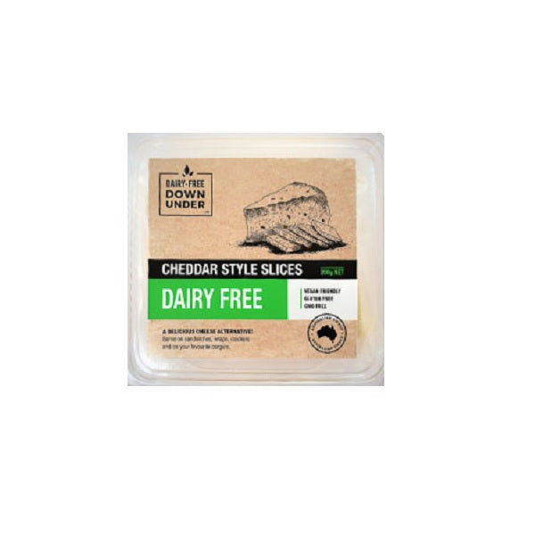 DF Downunder Slices Cheddar 200g