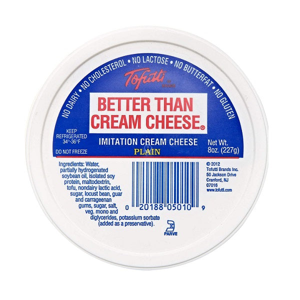 Tofutti Cream Cheese Plain 227g