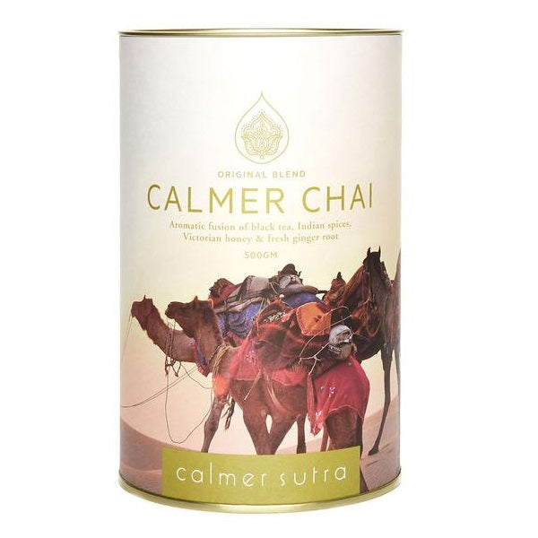 Calmer Sutra Tea Fresh Chai Tin 500g