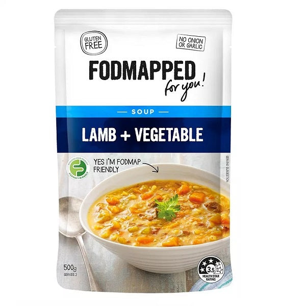 Fodmapped Soup -  Lamb and Vegetable 500ml