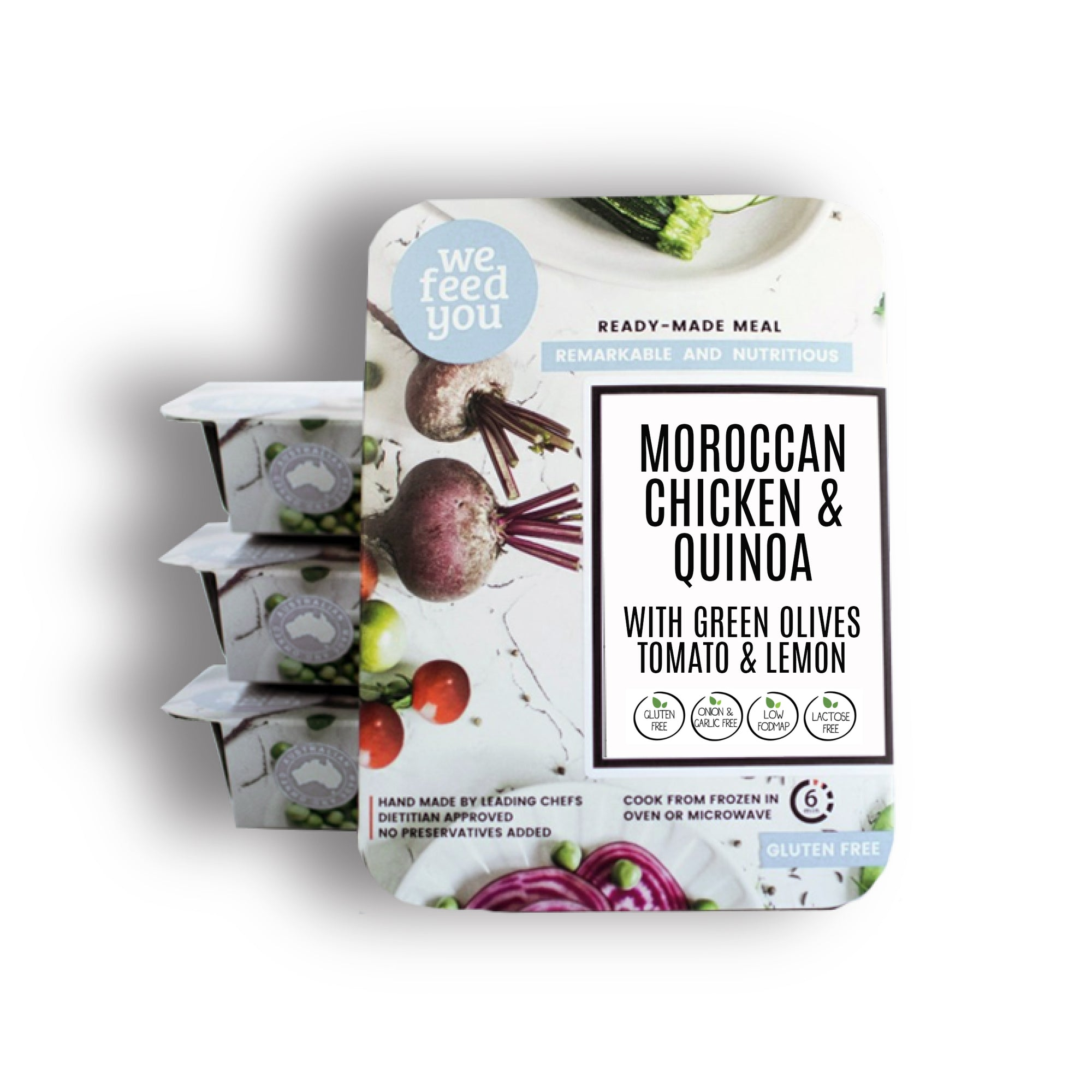 We Feed You - Moroccan Chicken Quinoa 400g