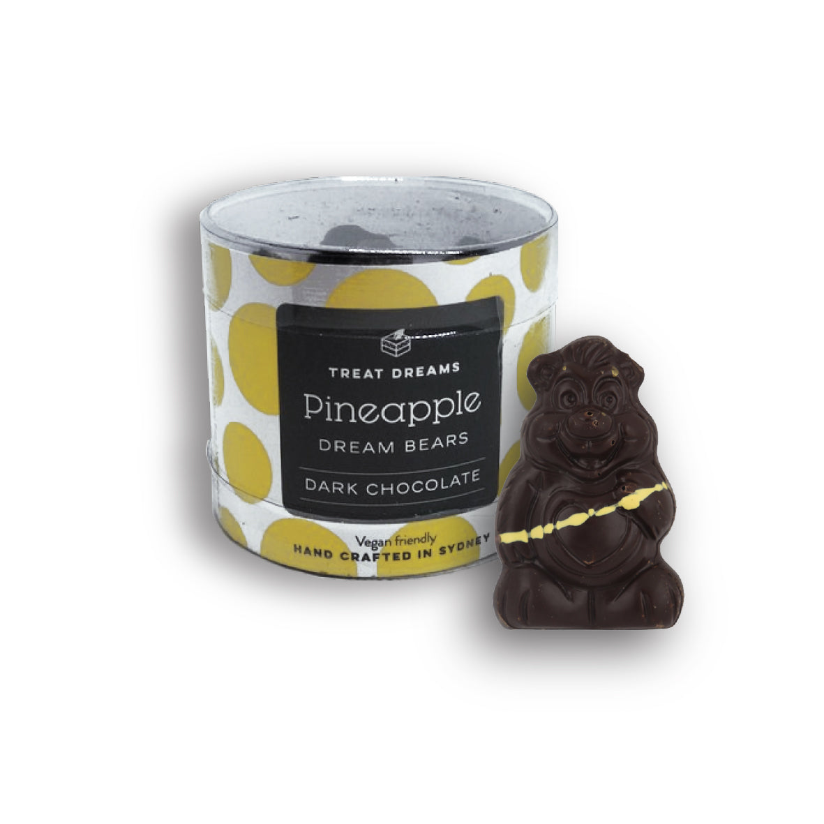 Treat Dreams - Dream Bear - Pineapple Tub 10 Pack 140g