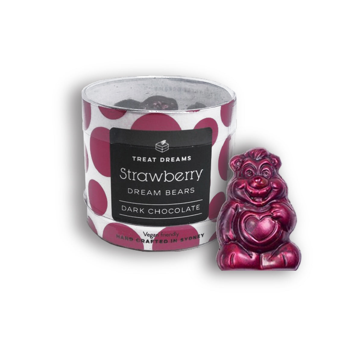 Treat Dreams - Dream Bear - Strawberry Tub 10 Pack 140g