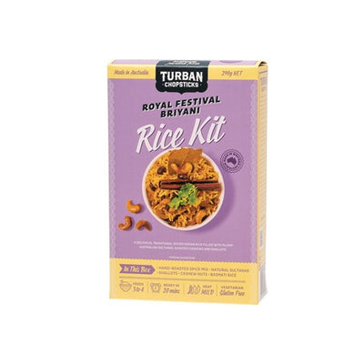 Turban Chopsticks - Rice Kit - Briyani 290g