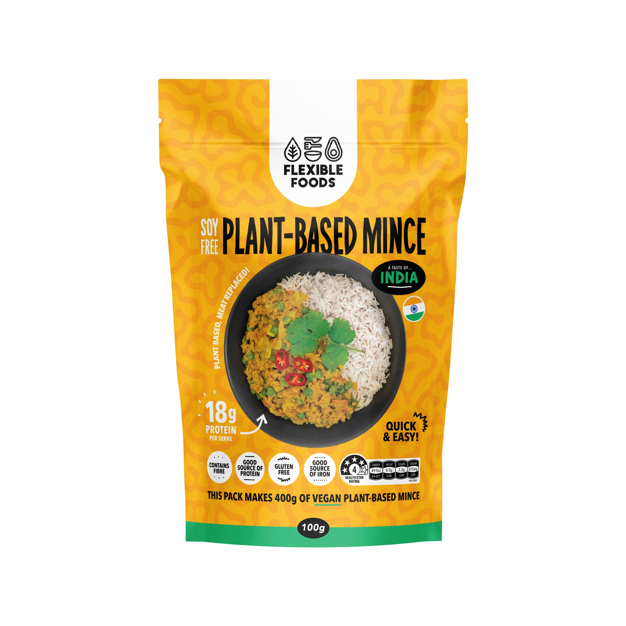 Flexible Foods - Plant Based MInce - India 100g