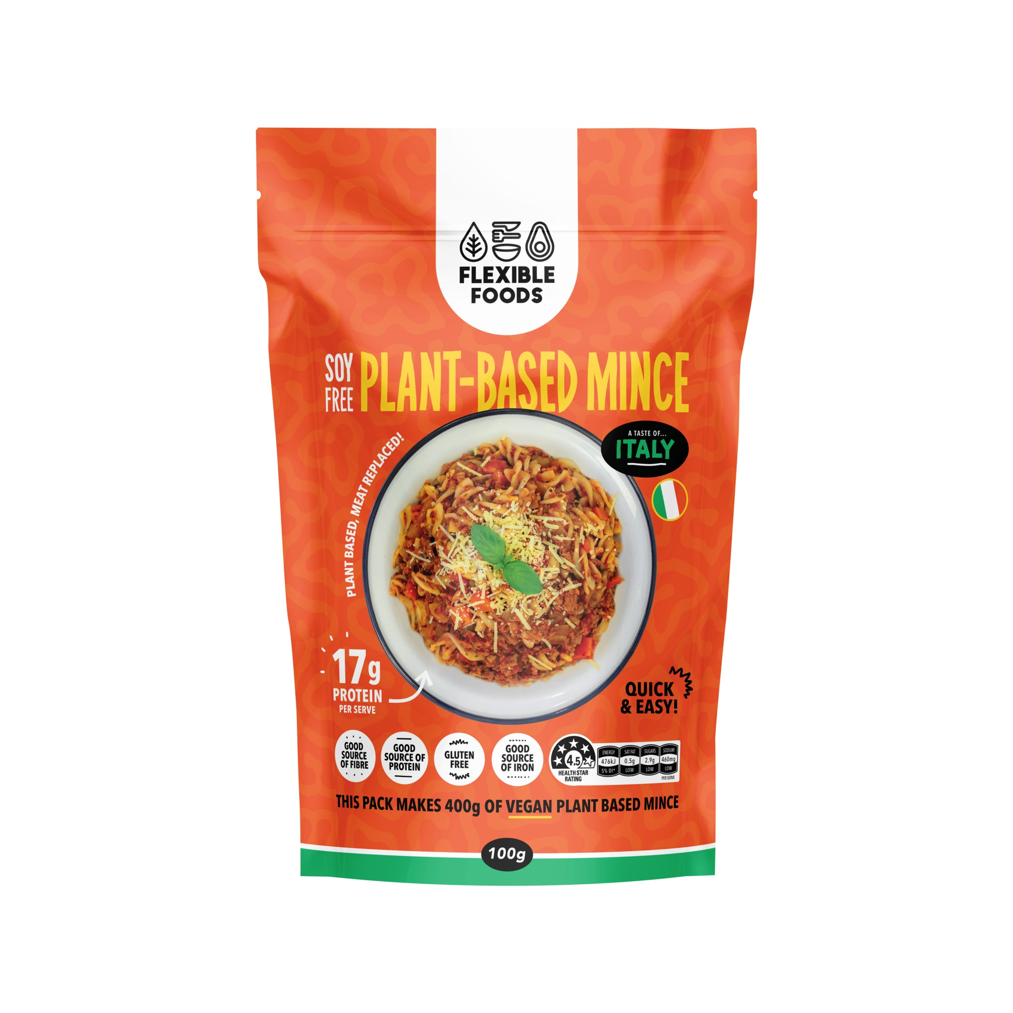 Flexible Foods - Plant Based Mince - Italy
