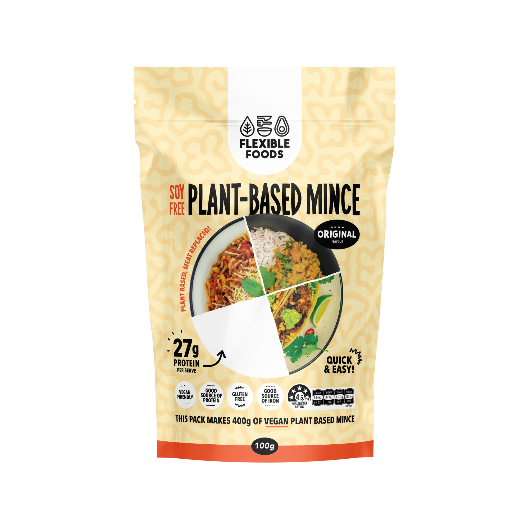 Flexible Foods - Plant Based Mince 100g