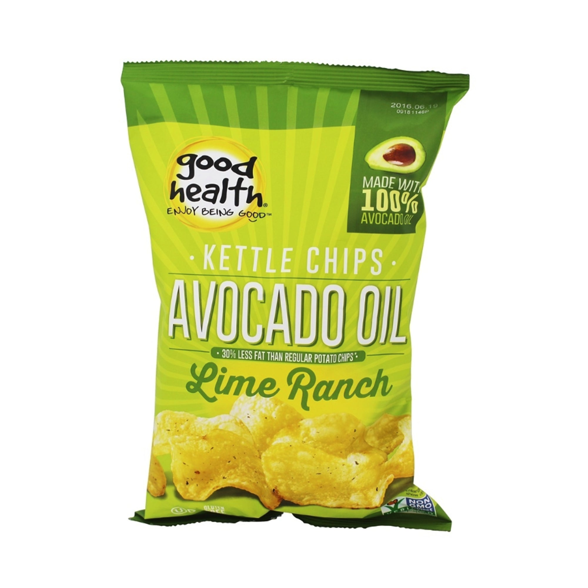 Good Health - Avocado Oil - Lime Ranch Chips 142g