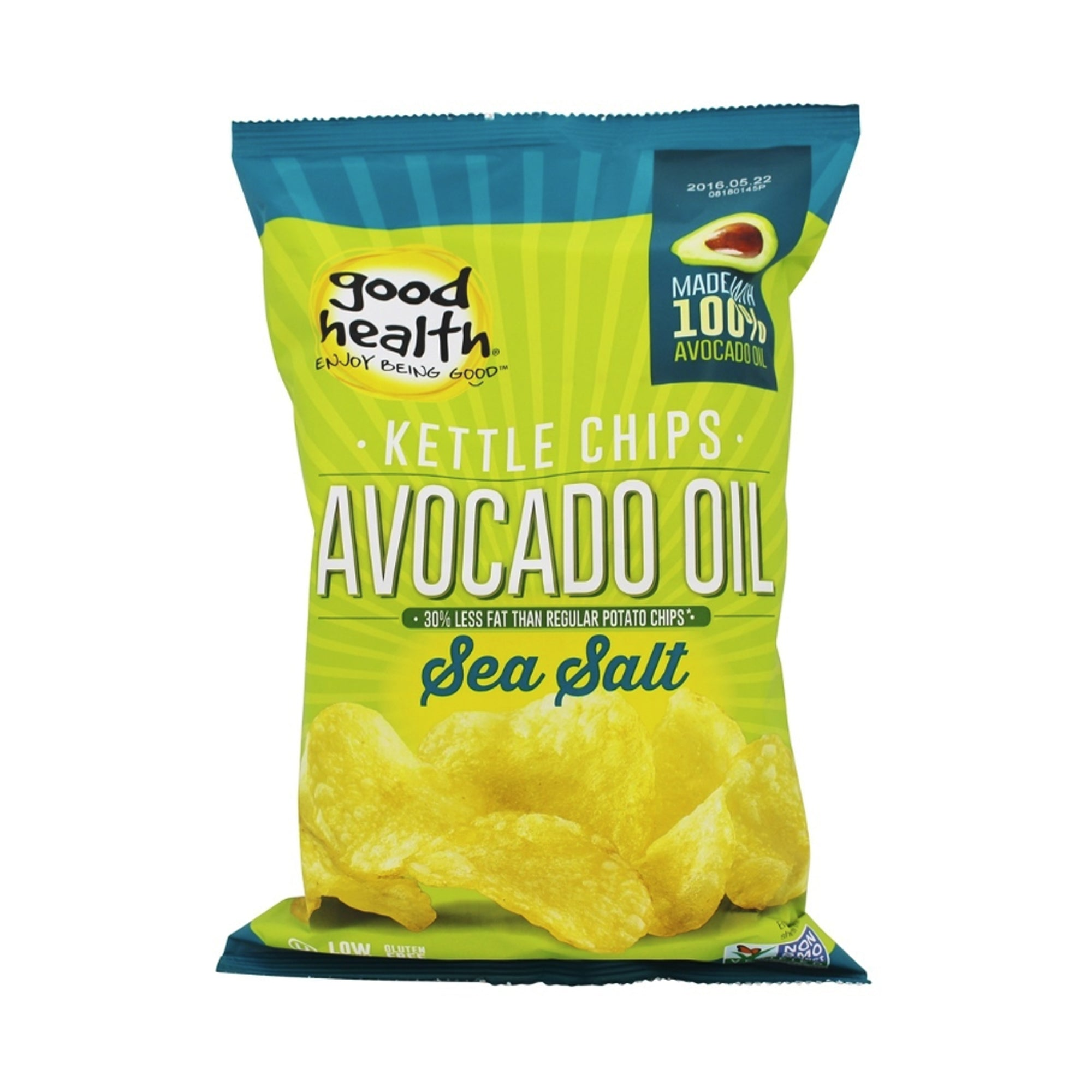 Good Health - Avocado Oil - Sea Salt Chips 142g