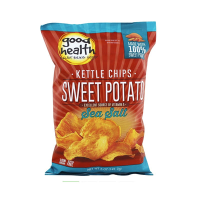 Good Health - Sweet Potato & Sea Salt Chips 142g