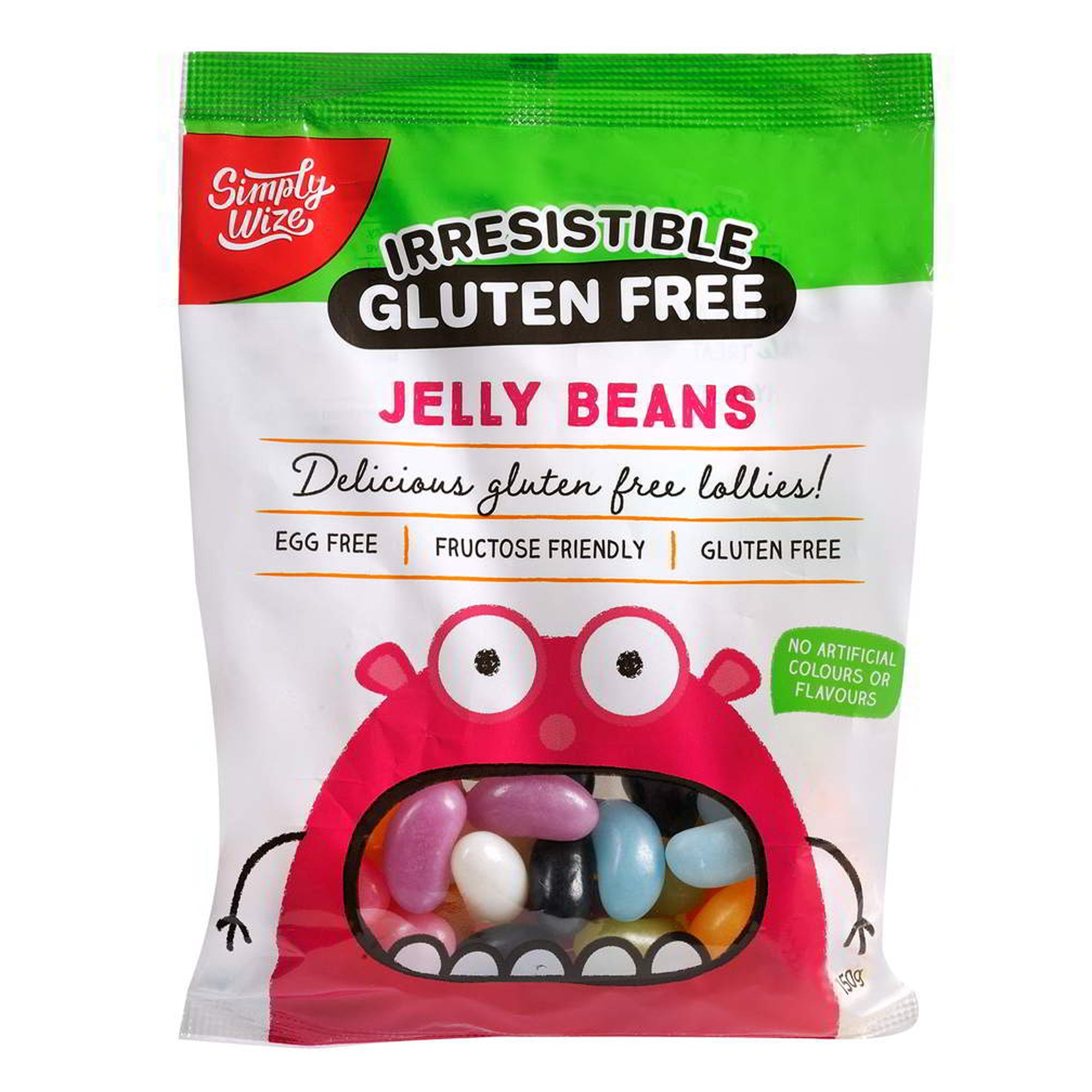 Simply Wize - Irresistible Jelly Beans 150g