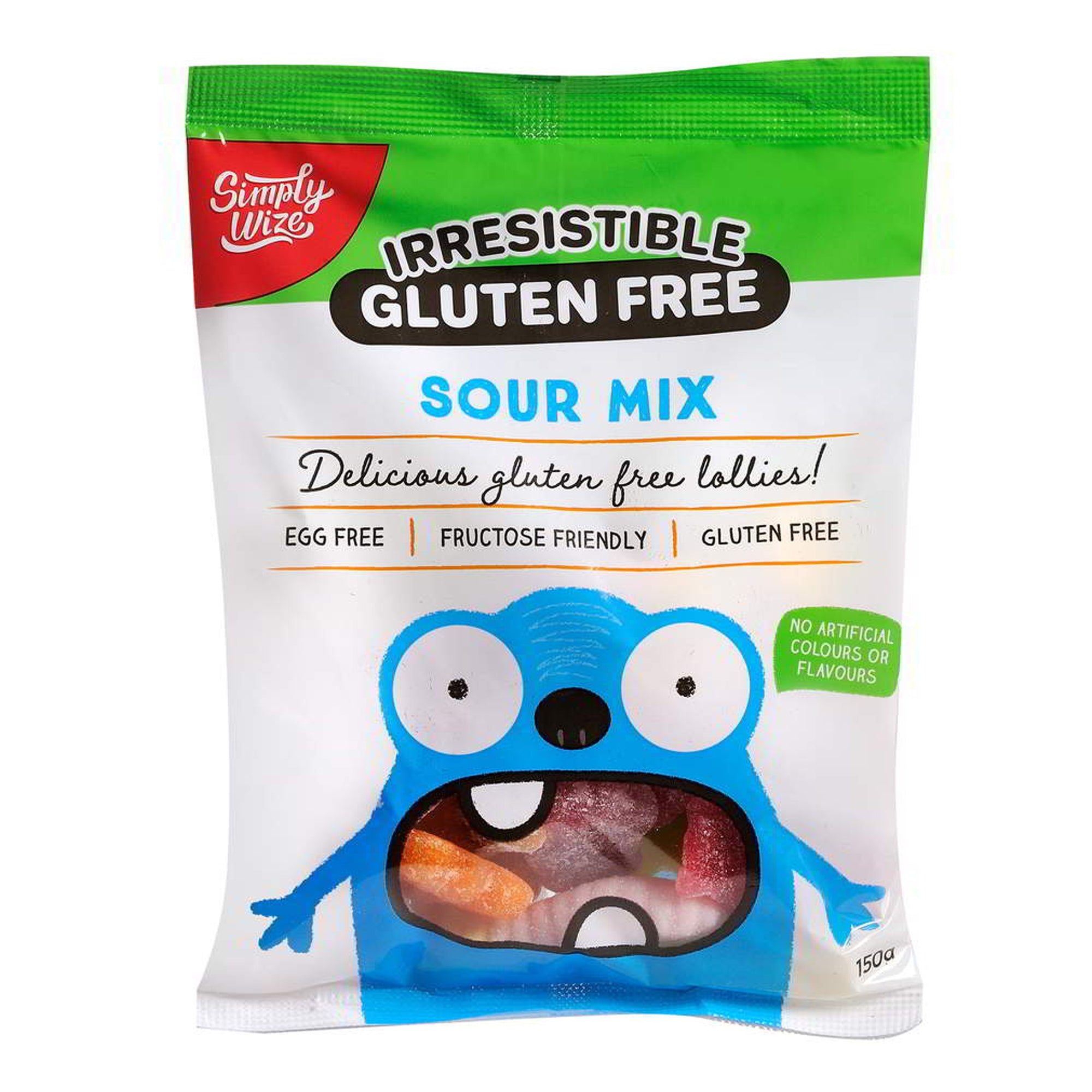 Simply Wize - Irresistible Sour Mix 150g