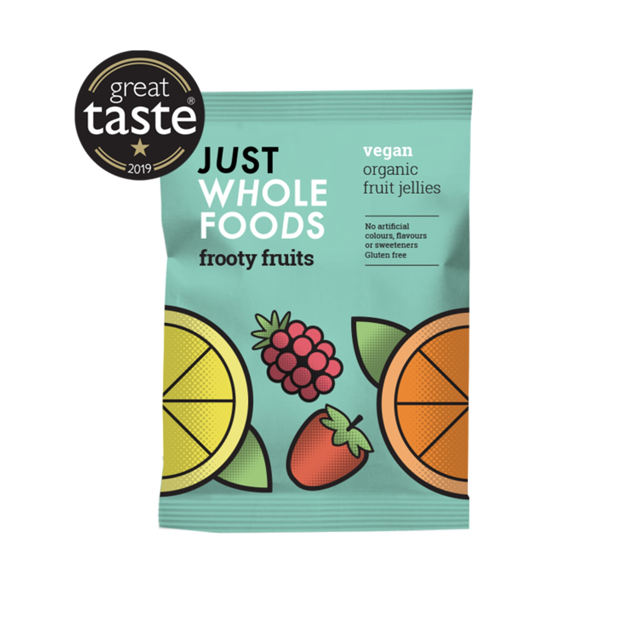 Just Wholefoods - Organic - Frooty Fruits 100g