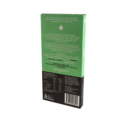 Loving Earth Chocolate - Dark Mint 80g