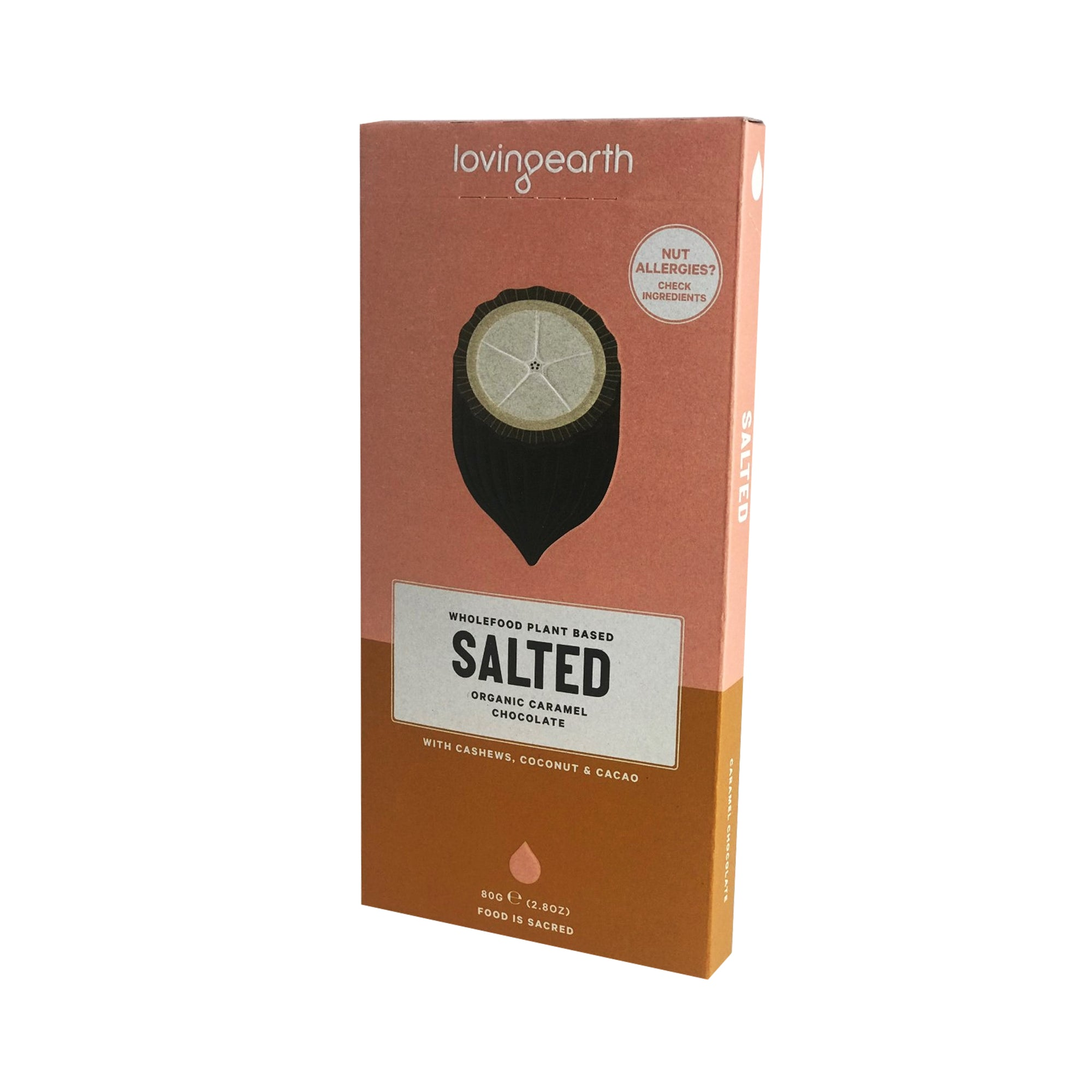 Loving Earth Chocolate - Salted Caramel 80g