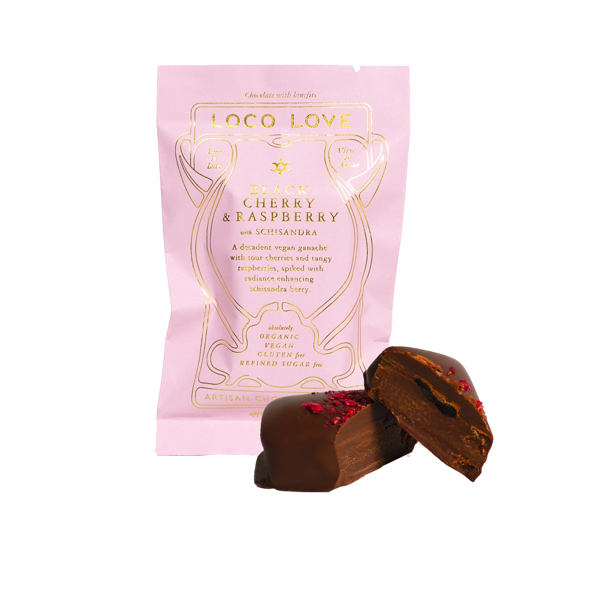Loco Love - Black Cherry & Raspberry with Schisandra 30g