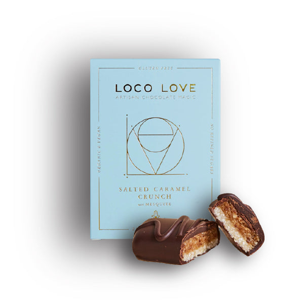 Loco Love Twin Gift Box (2) - Salted Caramel Crunch 60g