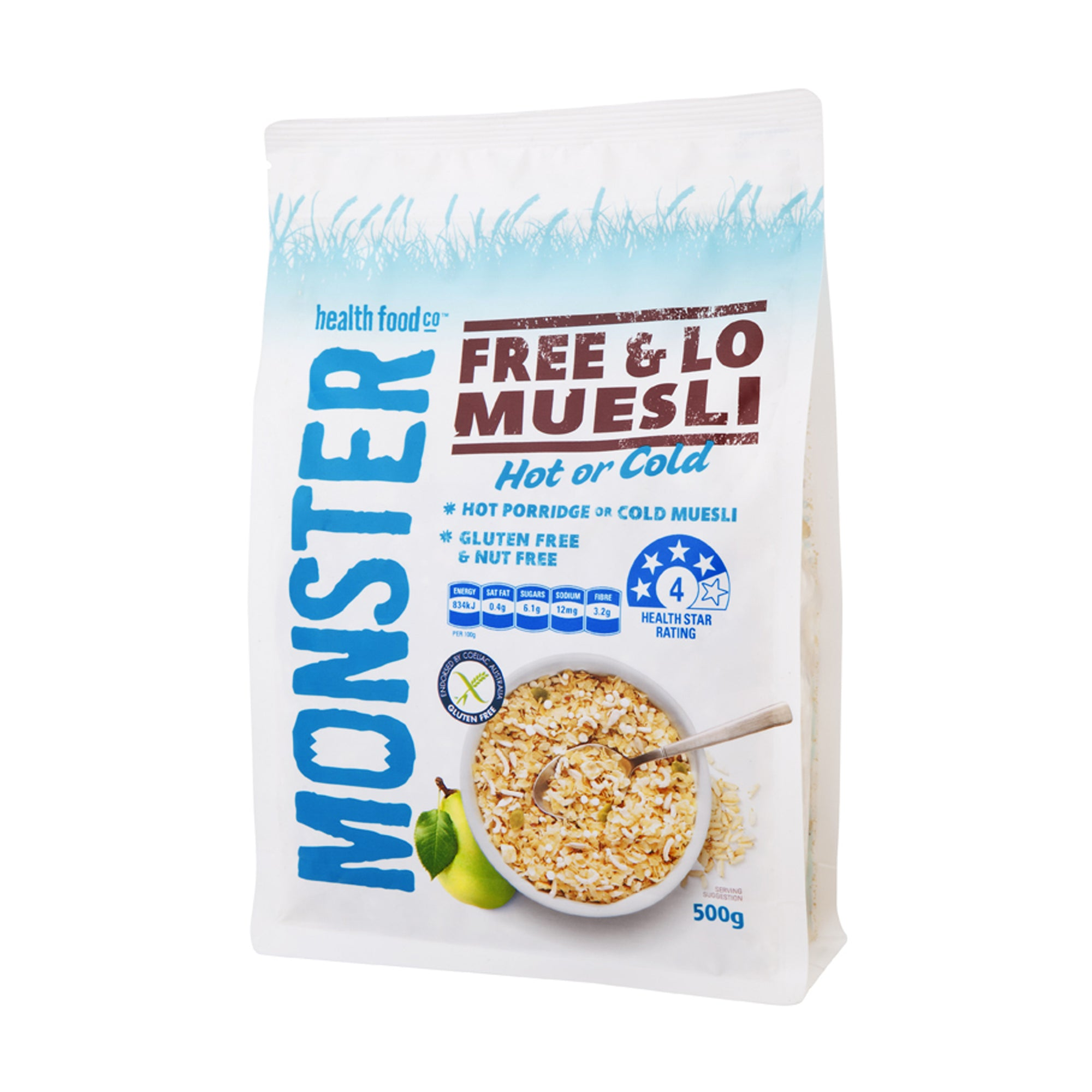 Monster Muesli Free and Lo 500g
