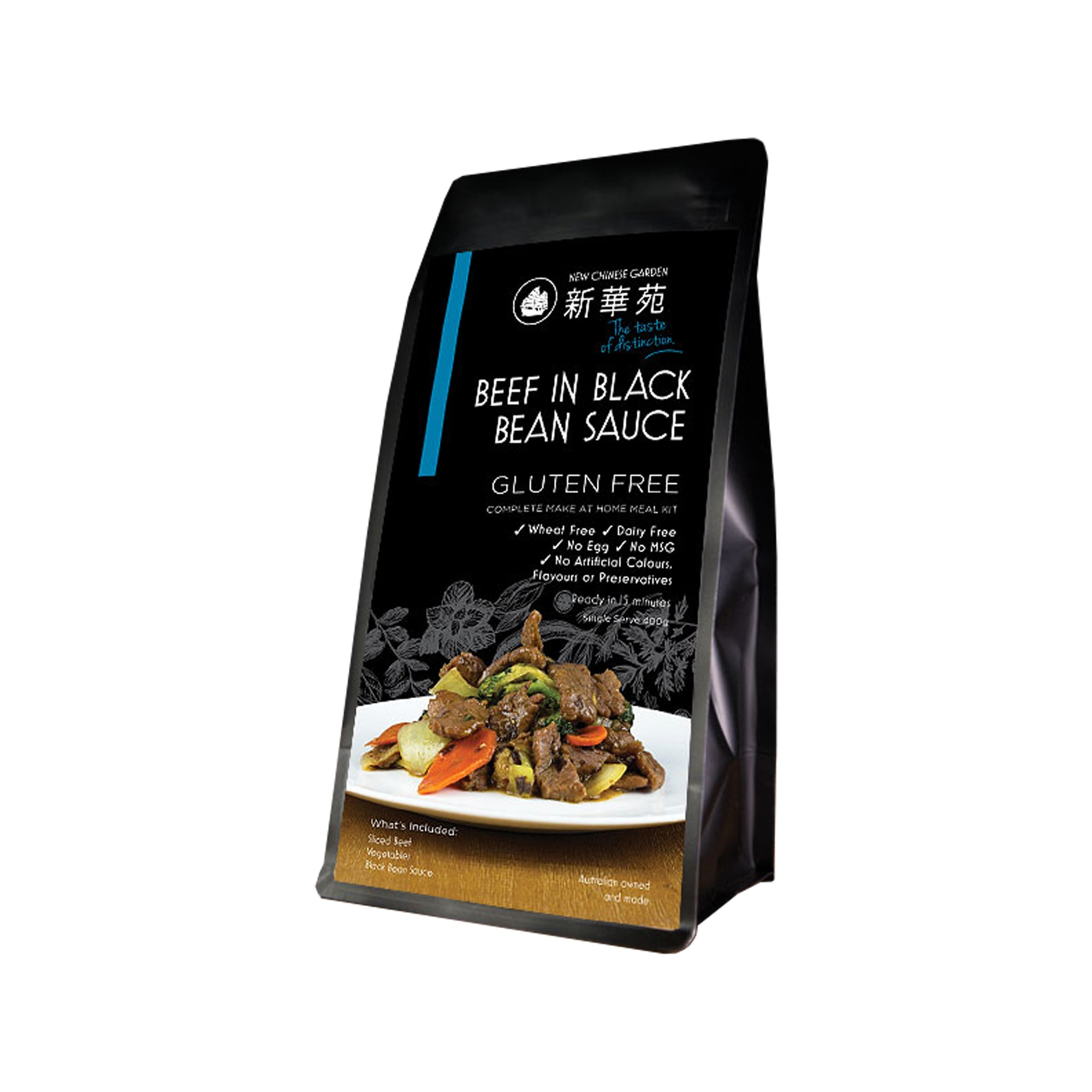New Chinese Garden - Beef Black Bean 570g