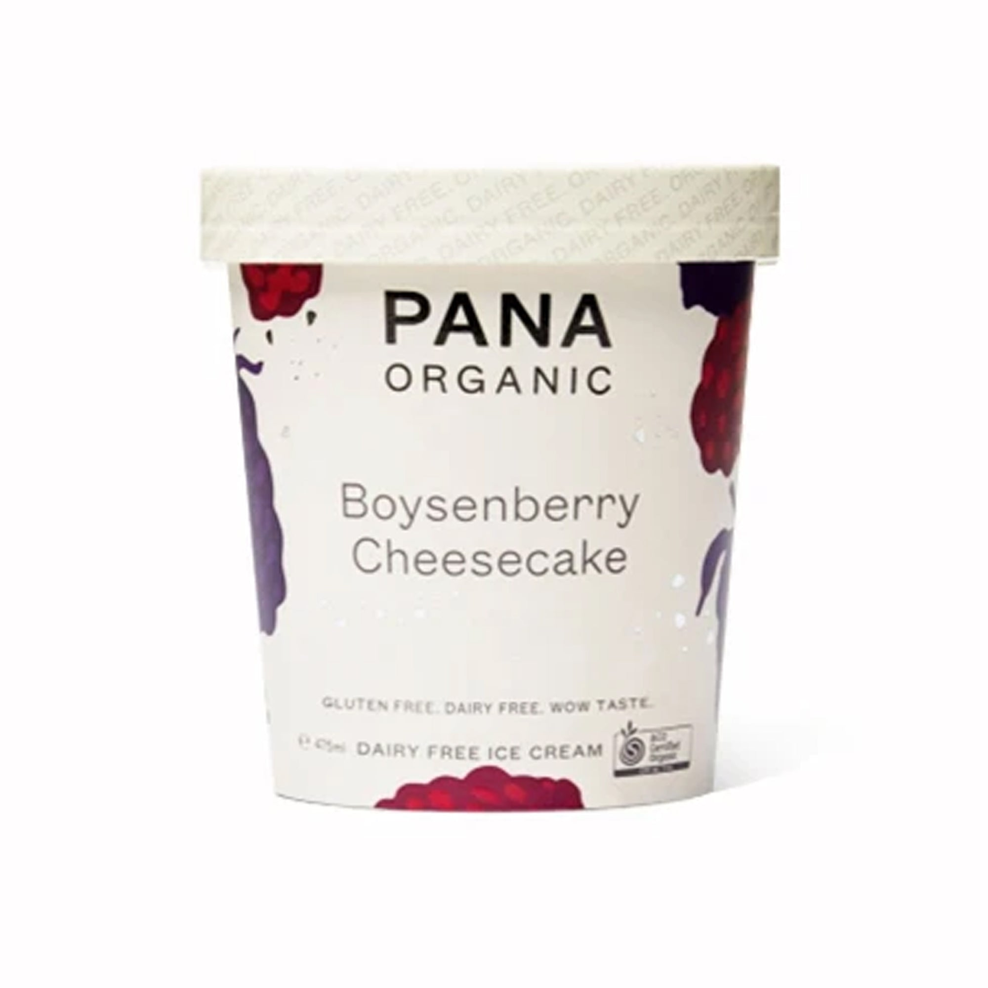 Pana Icecream - Tub - Boysenberry Cheesecake 475ml