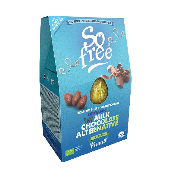 So Free - Organic - Milk Style - Hollow Choc Egg with Mini Eggs 125g