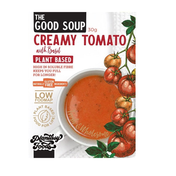 Plantasy Foods - The Good Soup - Creamy Tomato Basil 30g