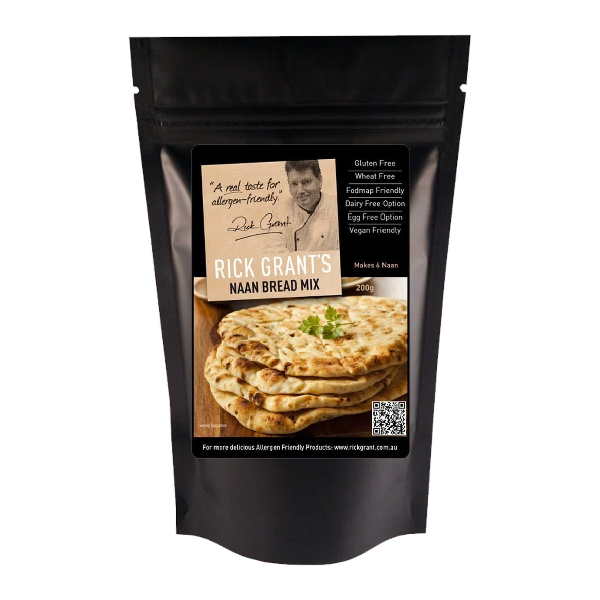 Rick Grants Mix - Naan Bread 200g