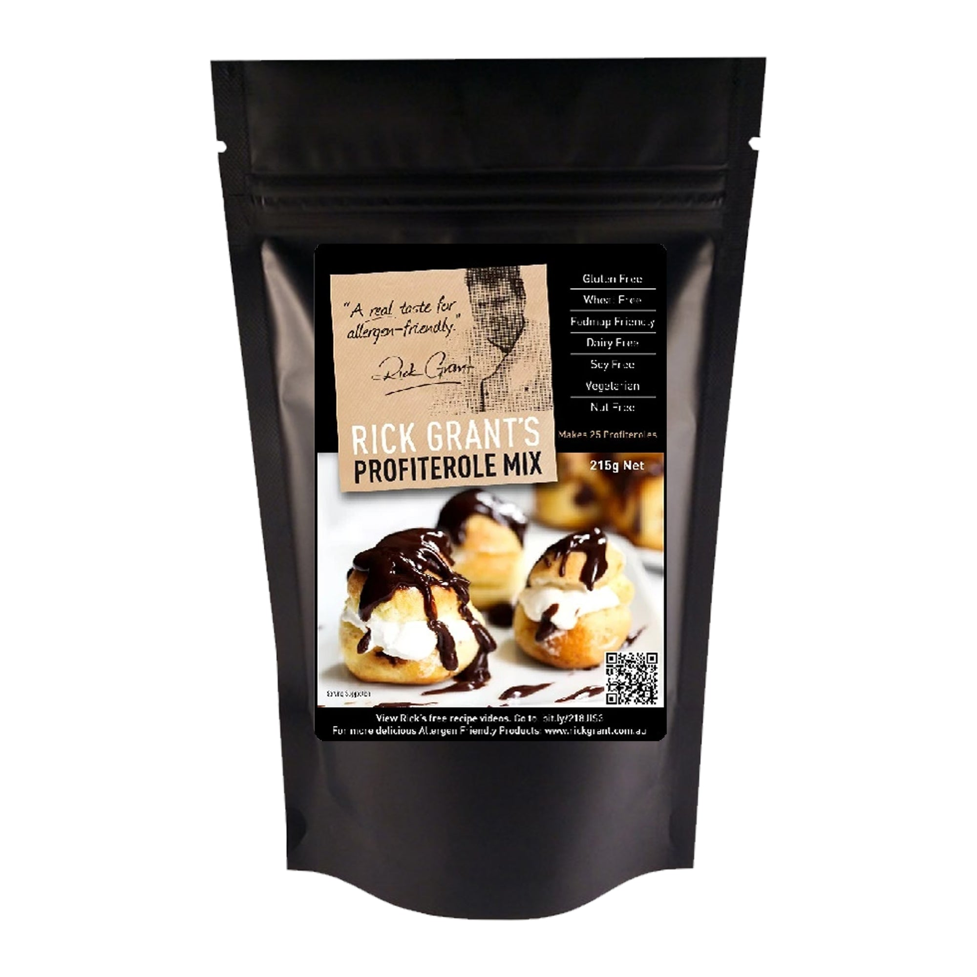 Rick Grants Mix Profiterole 215g
