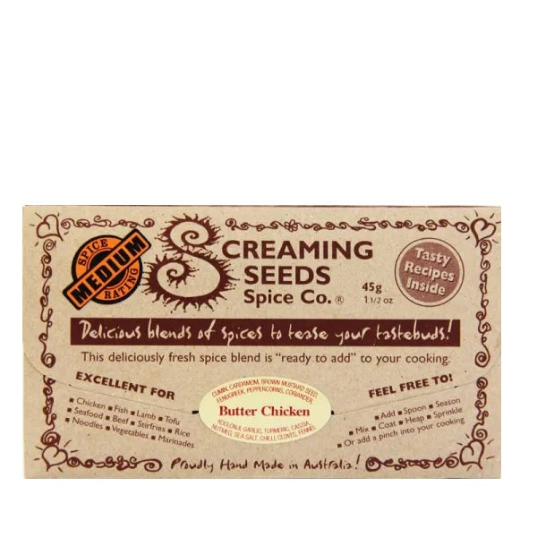 Screaming Seeds Butter Chicken 45g