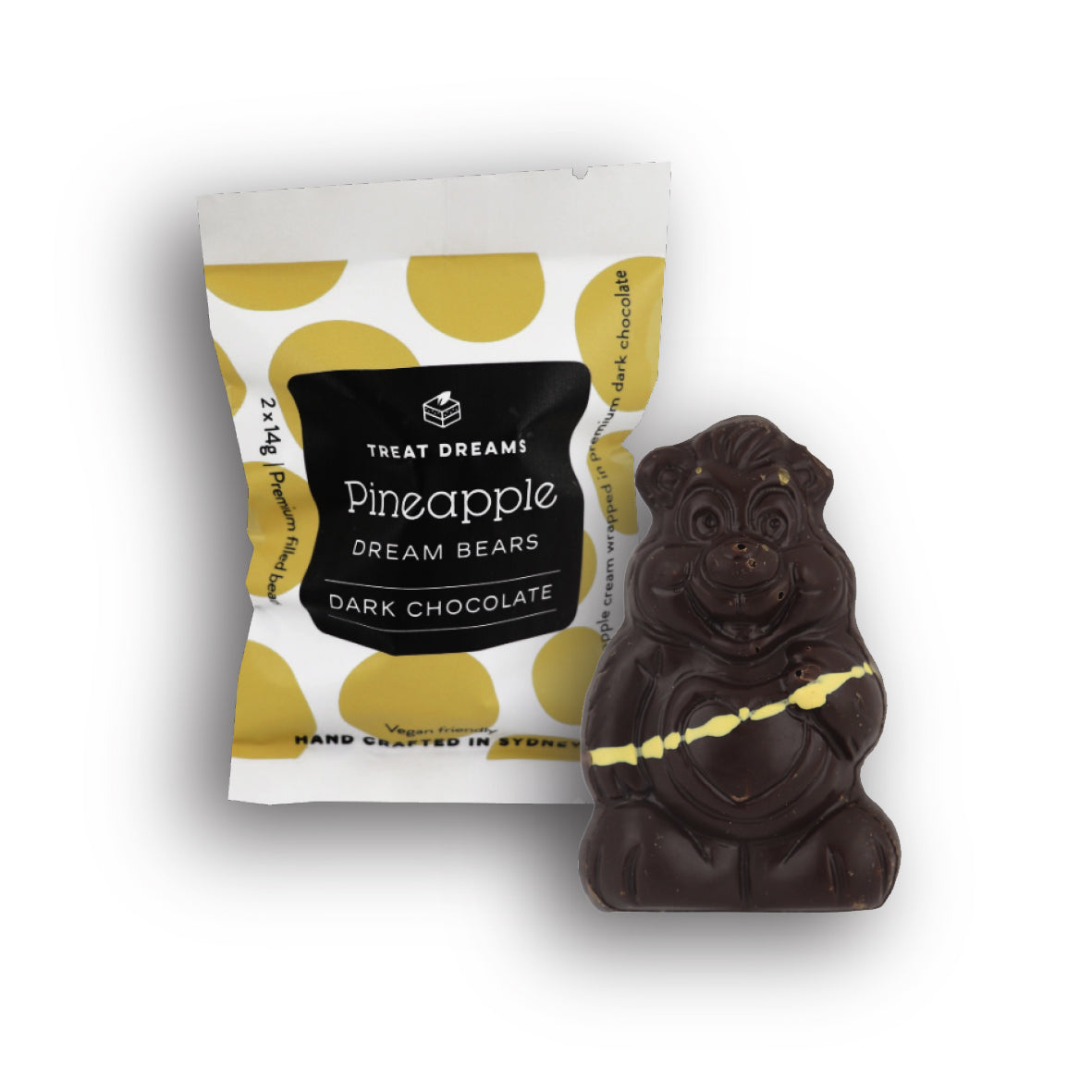 Treat Dreams - Dream Bear - Pineapple 2 Pack 28g